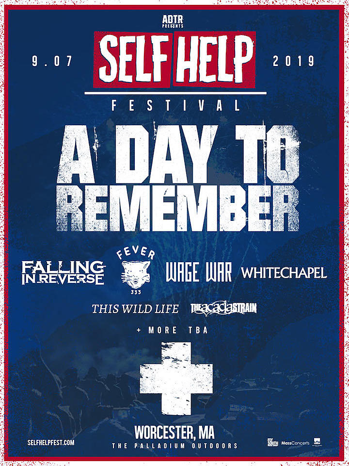 A Day to Remember Announce First Acts for 2019 Self Help