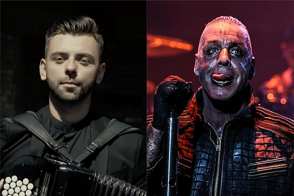 Rammstein Covered on Accordion by Ukrainian Folk Duo