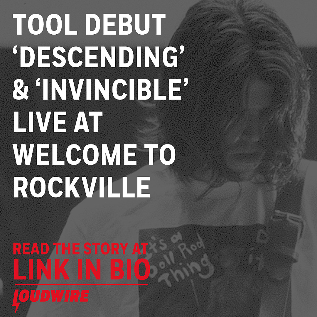 WATCH: Tool Perform New Songs 'Descending' + 'Invincible'