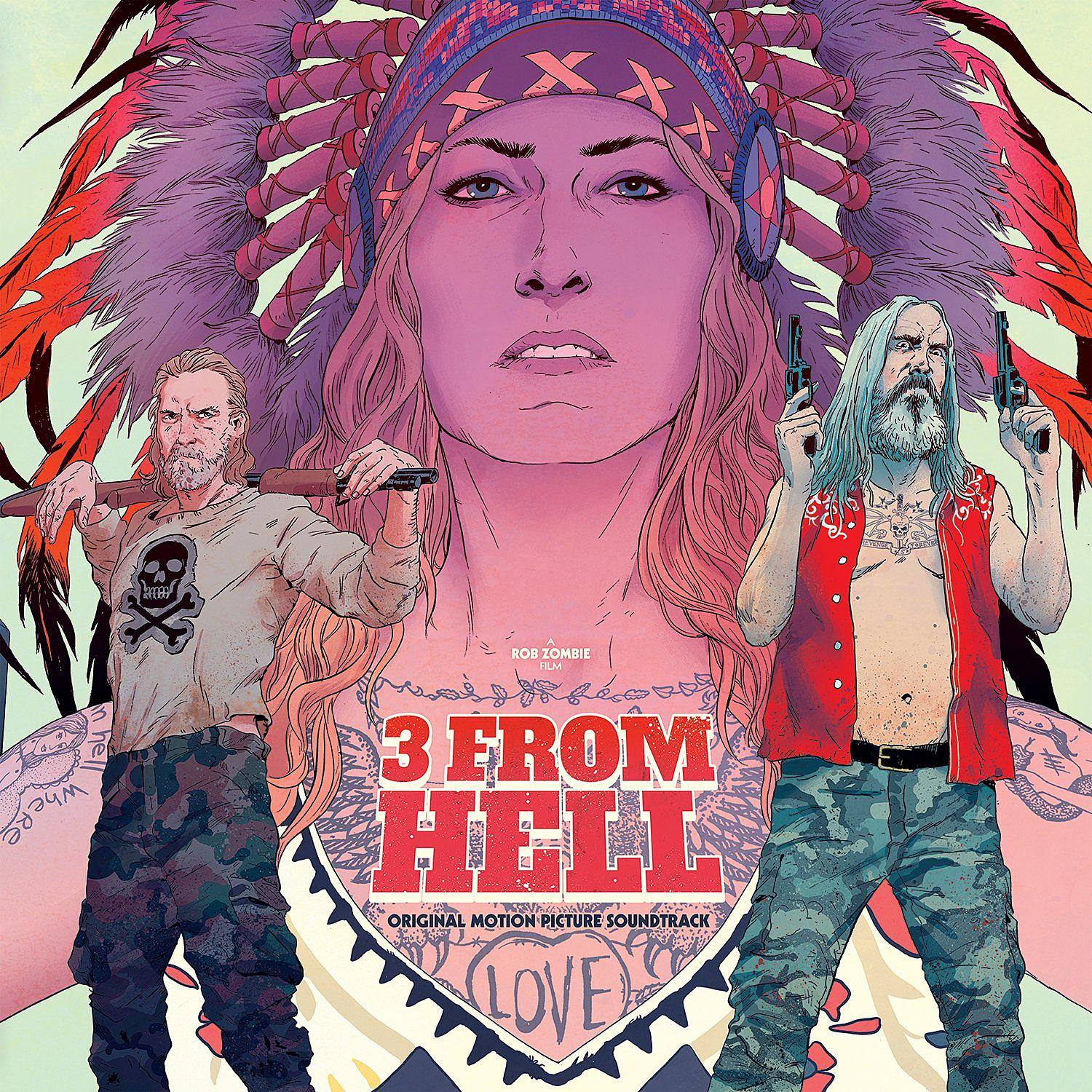Listen Rob Zombie Previews 3 From Hell Movie Soundtrack