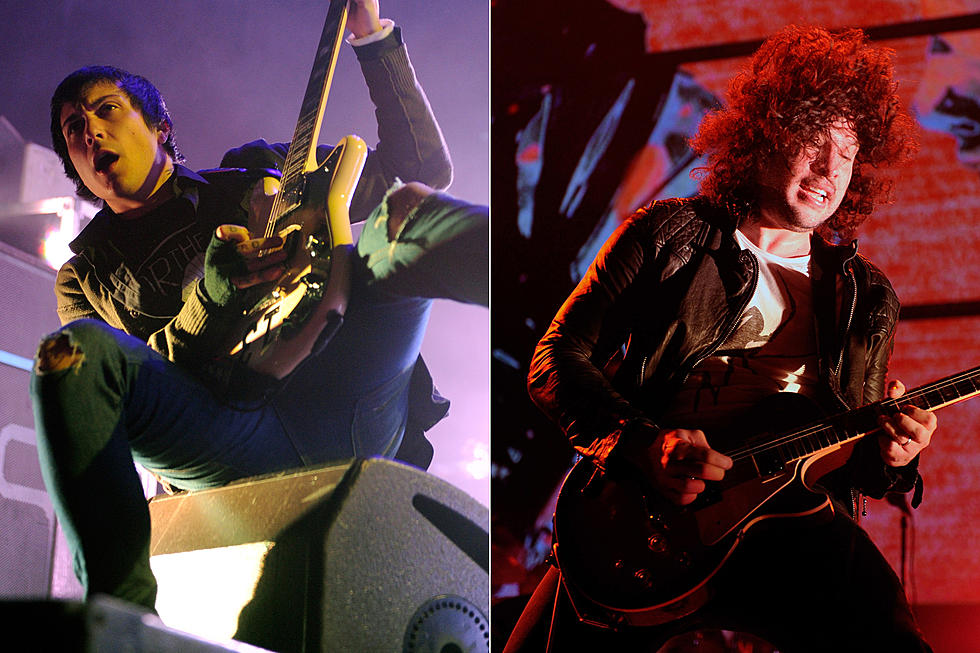 My Chemical Romance's Frank Iero + Ray Toro Reunite for Session