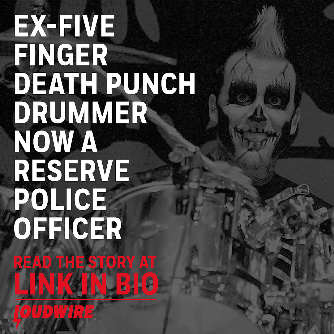 Ex-Five Finger Death Punch Drummer Now a Reserve Police Officer