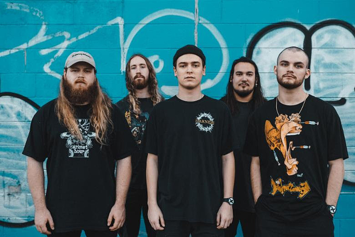 Knocked Loose Release Shirt to Benefit Domestic Violence Victims