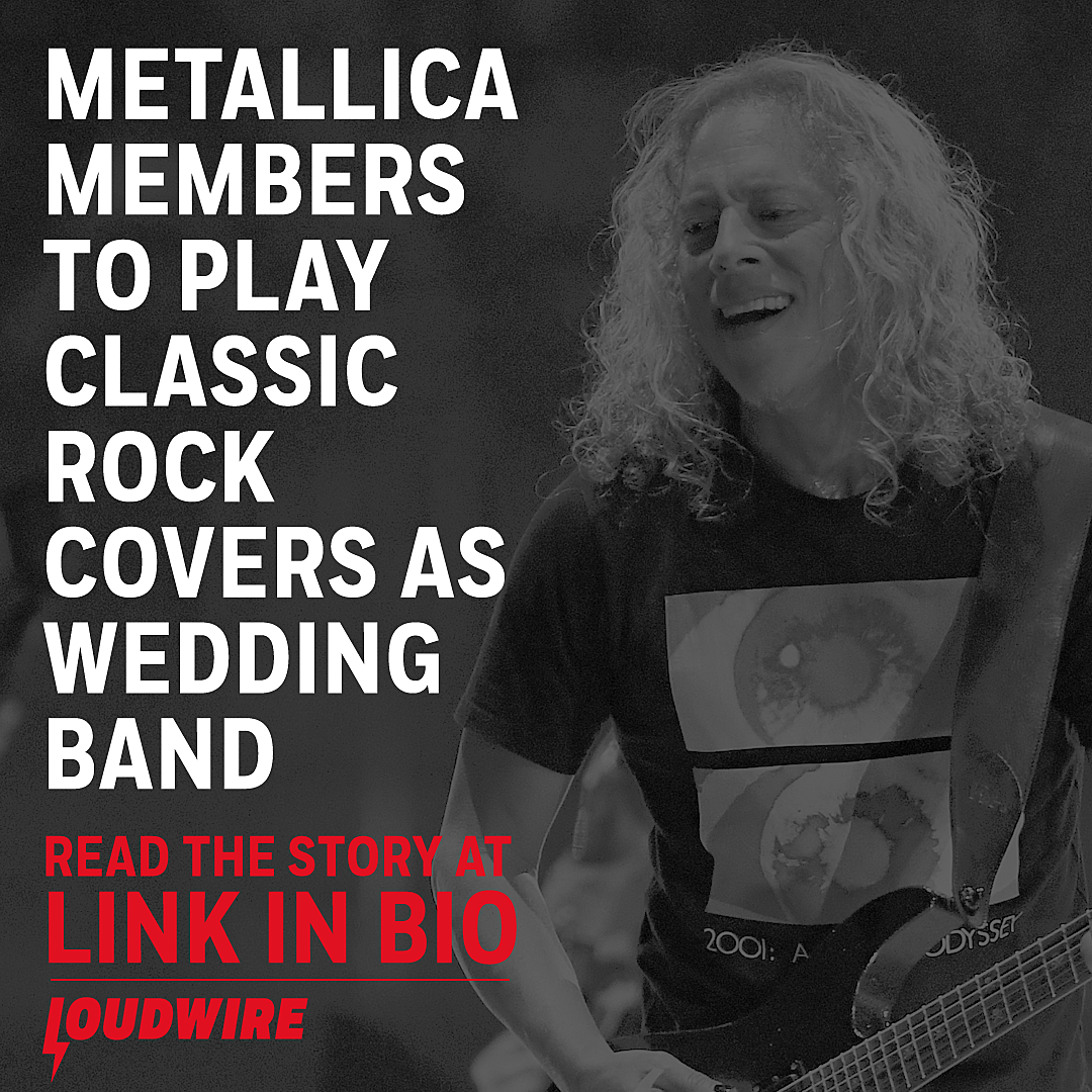 Metallica Members to Play Classic Rock Covers as Wedding Band