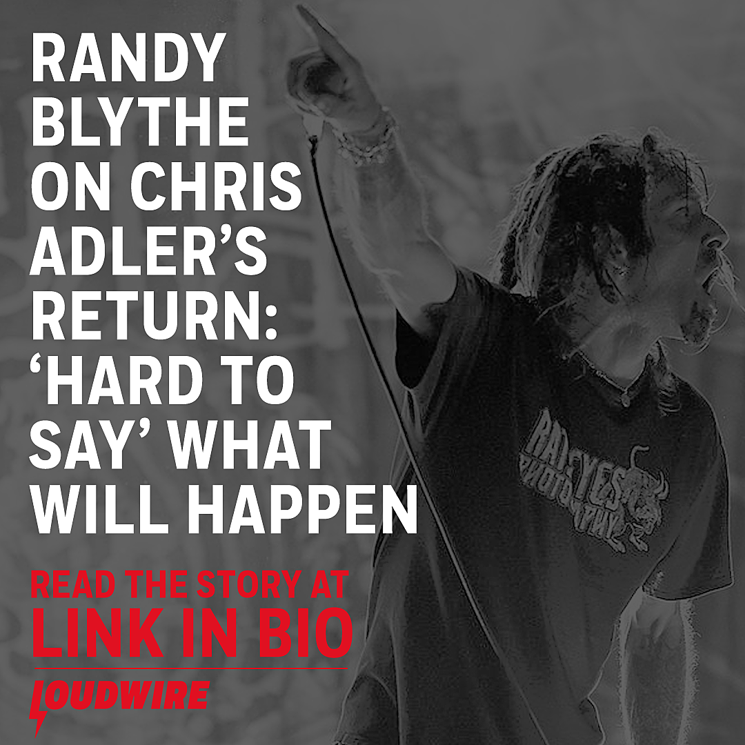 aa5ce8a3 Randy Blythe on Chris Adler Return: Hard to Say What Will Happen