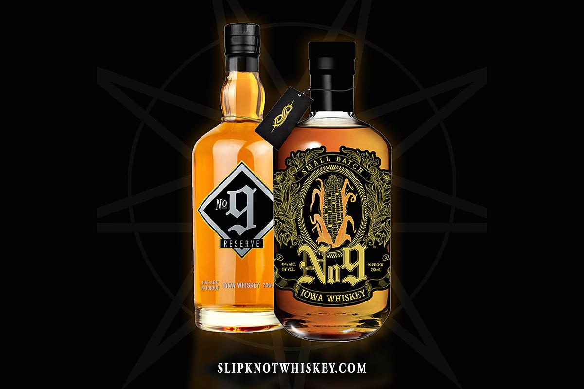 Slipknot to Release 'No. 9 Iowa Whiskey' Soon