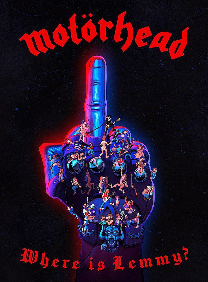 Motorhead + Fantoons Partner for 'Where Is Lemmy?' Book