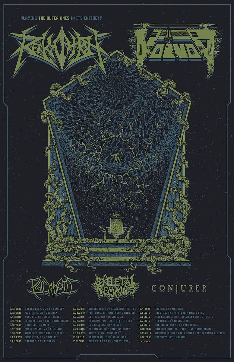 3 Metal Church Concert Flyer-Chicago 1985