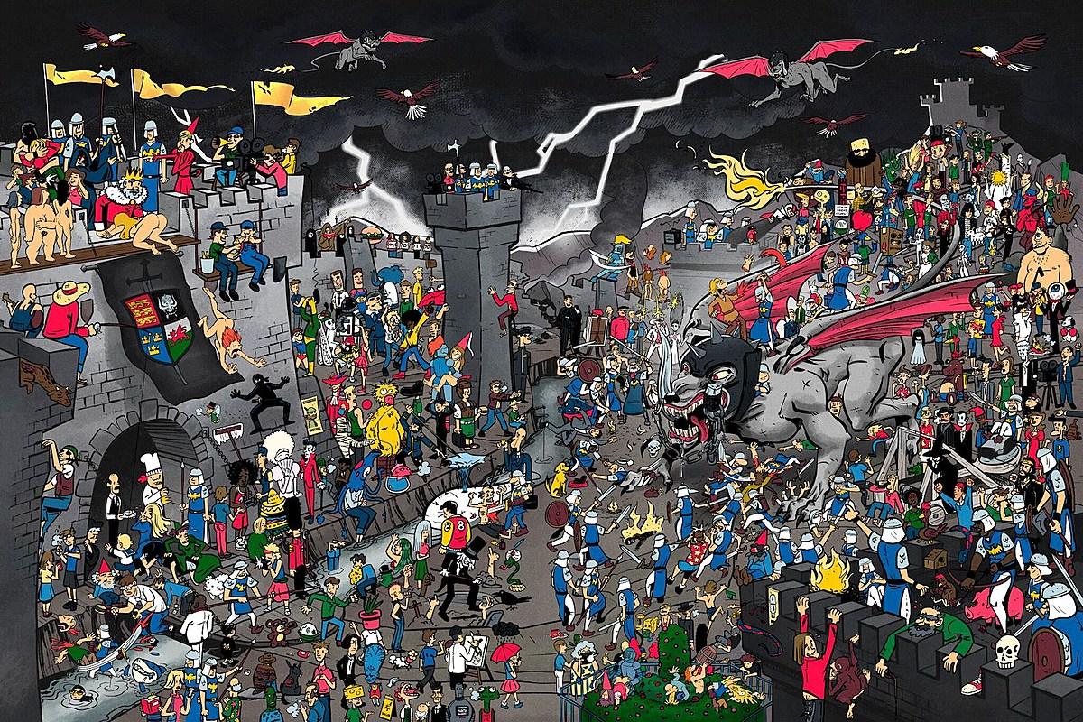 Resultado de imagen para Fantoons where is lemmy