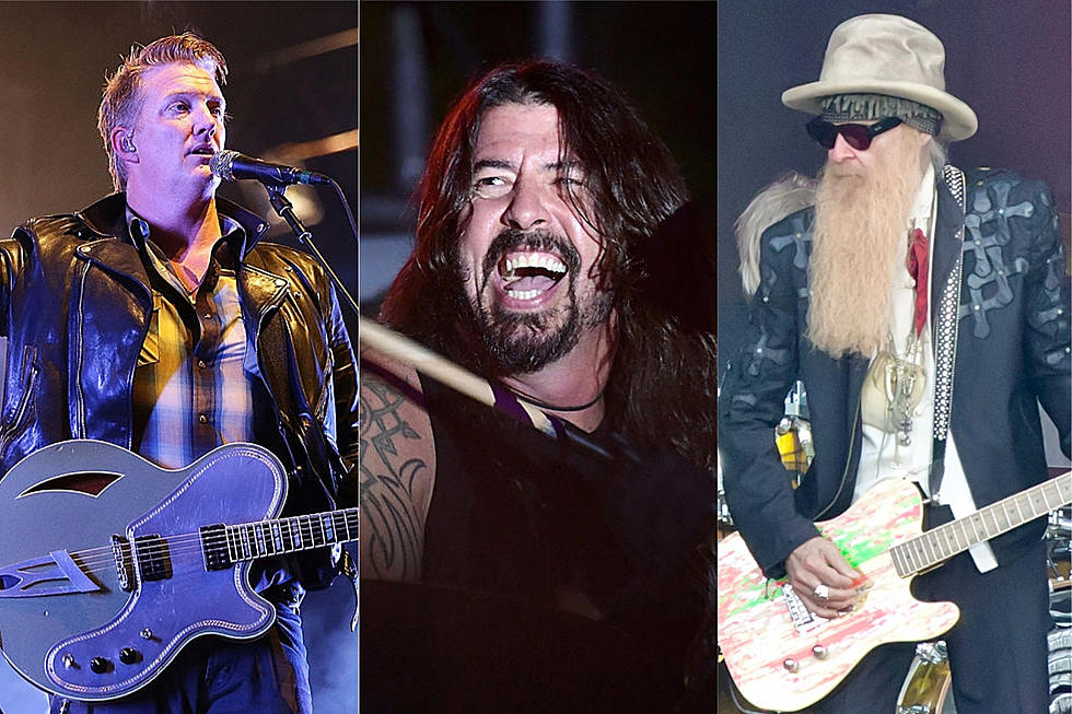Queens of the Stone Age: Dave Grohl + Billy Gibbons on New Album
