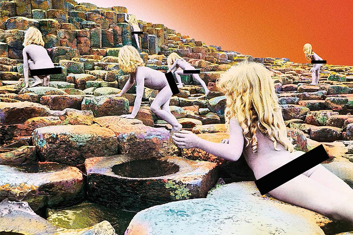 Report Facebook Bans Led Zeppelin Houses Of The Holy Artwork