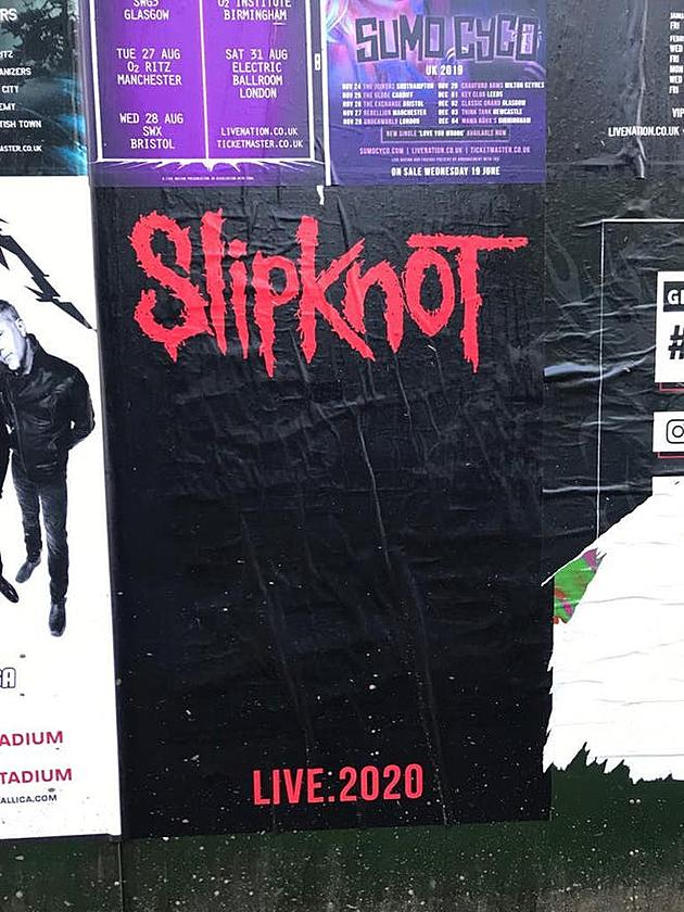 Stone Sour Tour Dates 2020 What Are Slipknot Teasing With Cryptic 2020 Concert Poster?