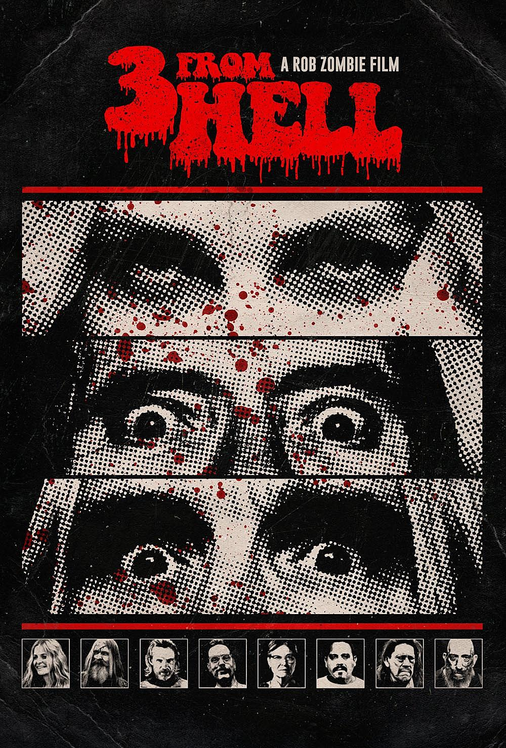 Rob Zombie S 3 From Hell Release Date Movie Poster Revealed