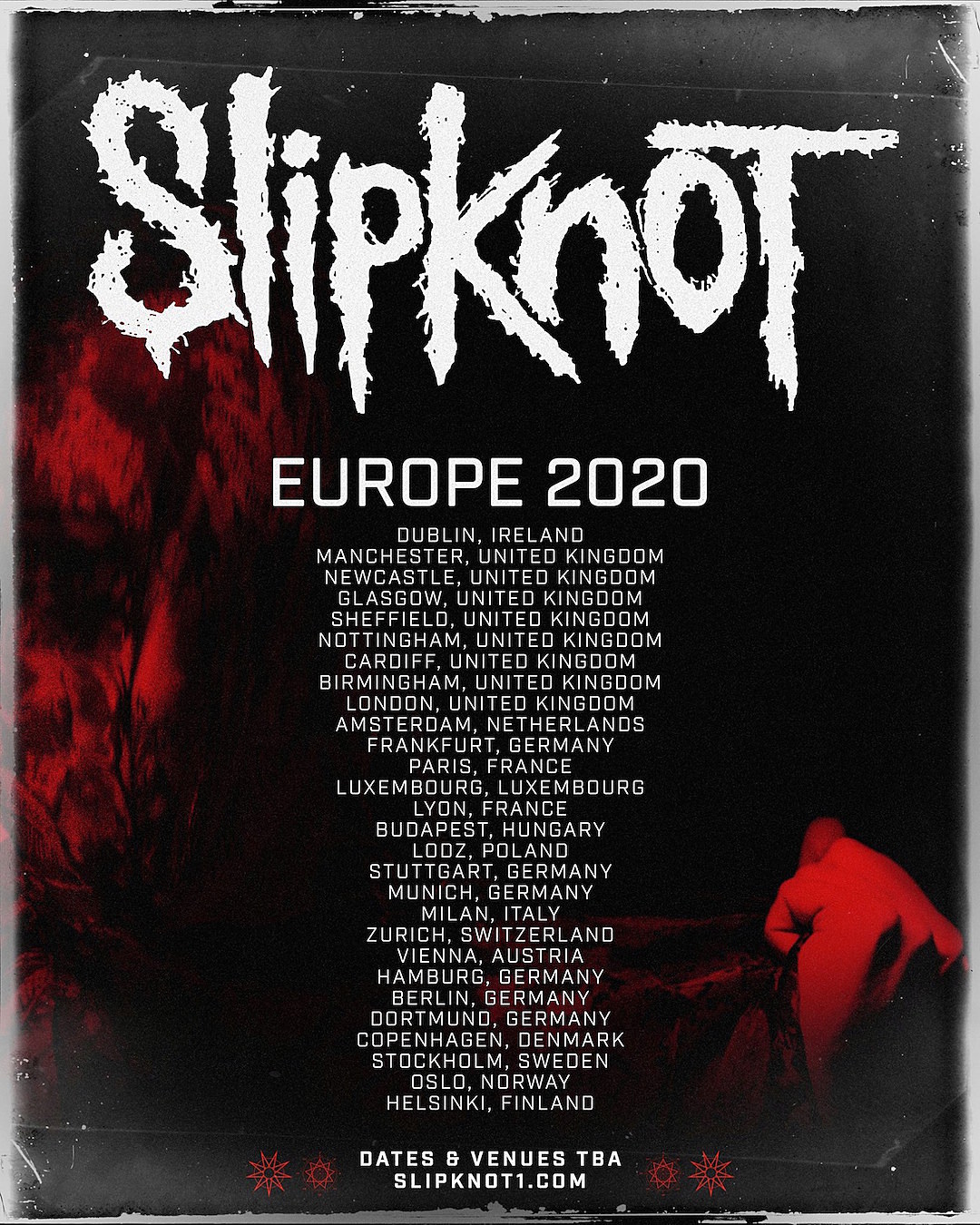 Stone Sour Tour Dates 2020 Slipknot Announce 2020 Tour
