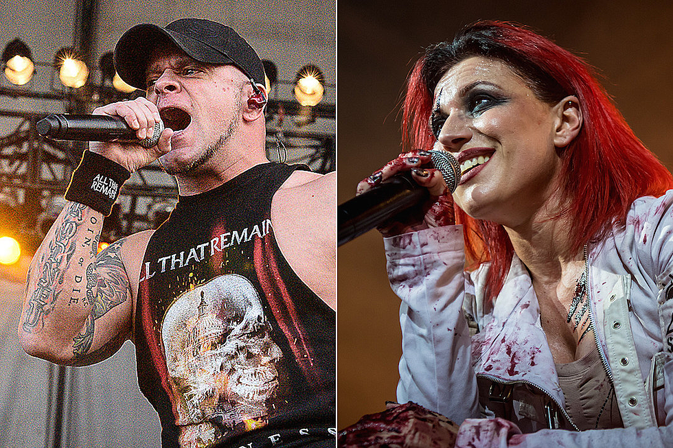 Lacuna Coil Tour 2020 All That Remains + Lacuna Coil Announce Co Headlining 2019 Tour