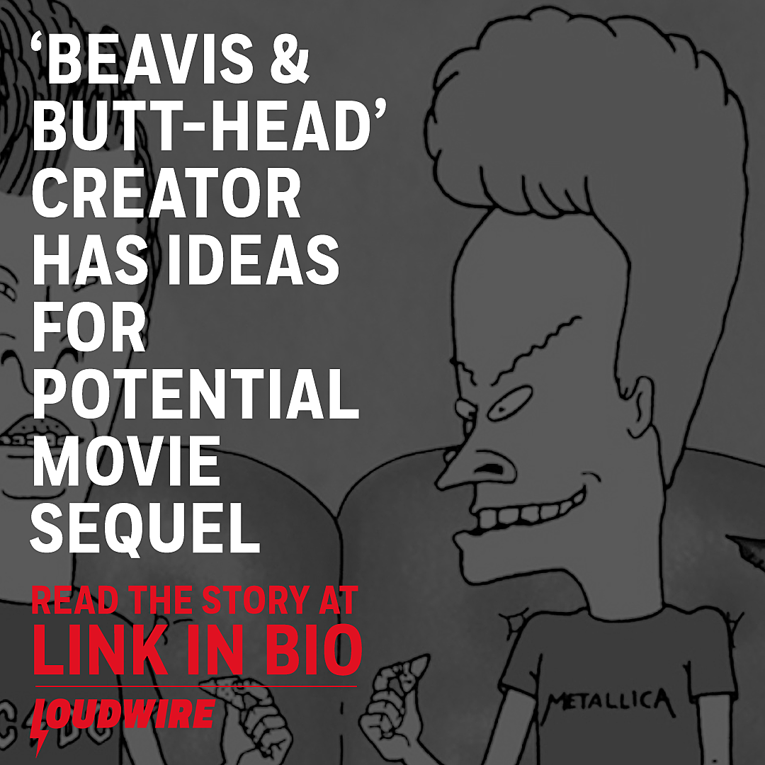 Beavis and Butt-Head Creator Has Ideas for Potential Movie