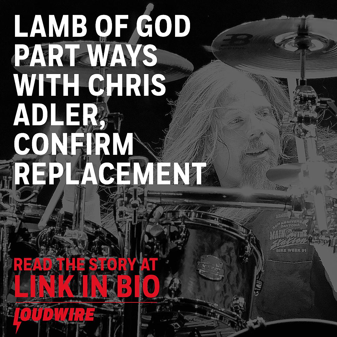 Lamb of God Announce Split From Drummer Chris Adler