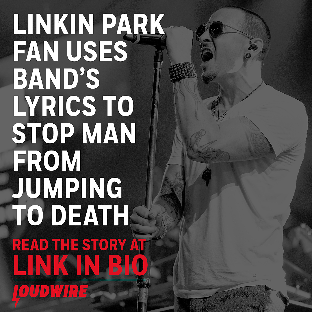 Linkin Park Fan Uses Band's Lyrics to Stop Man's Suicide Attempt
