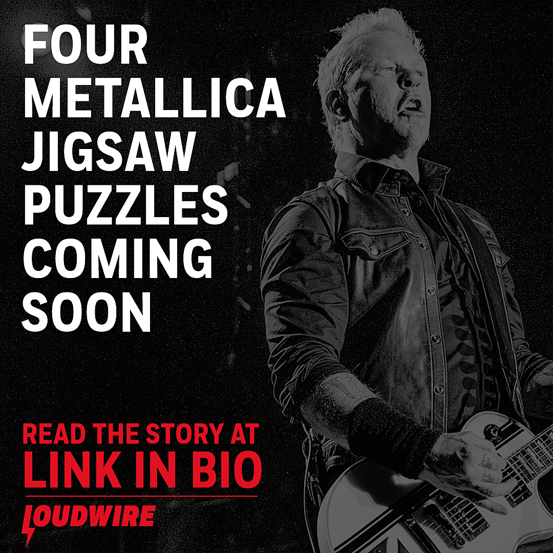 Four Metallica Jigsaw Puzzles Coming Soon