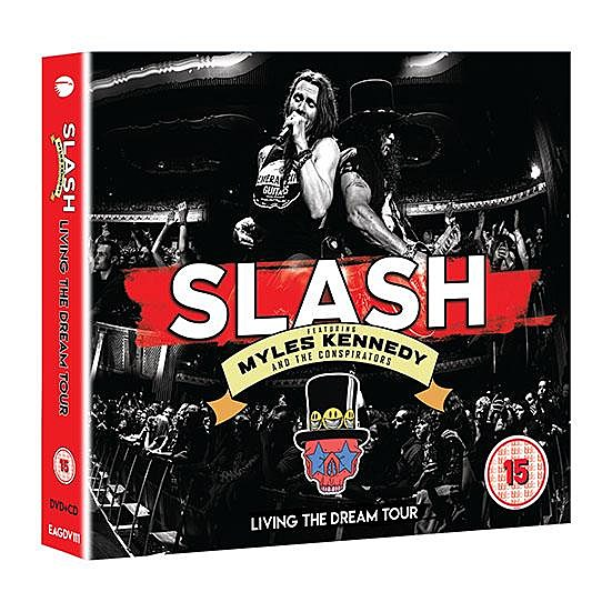 Slash ft Myles Kennedy + The Conspirators Prep Live DVD + CD