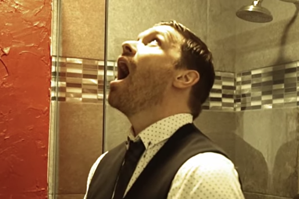 Watch Shinedown's Brent Smith Do His Bathroom Vocal Warm-Up