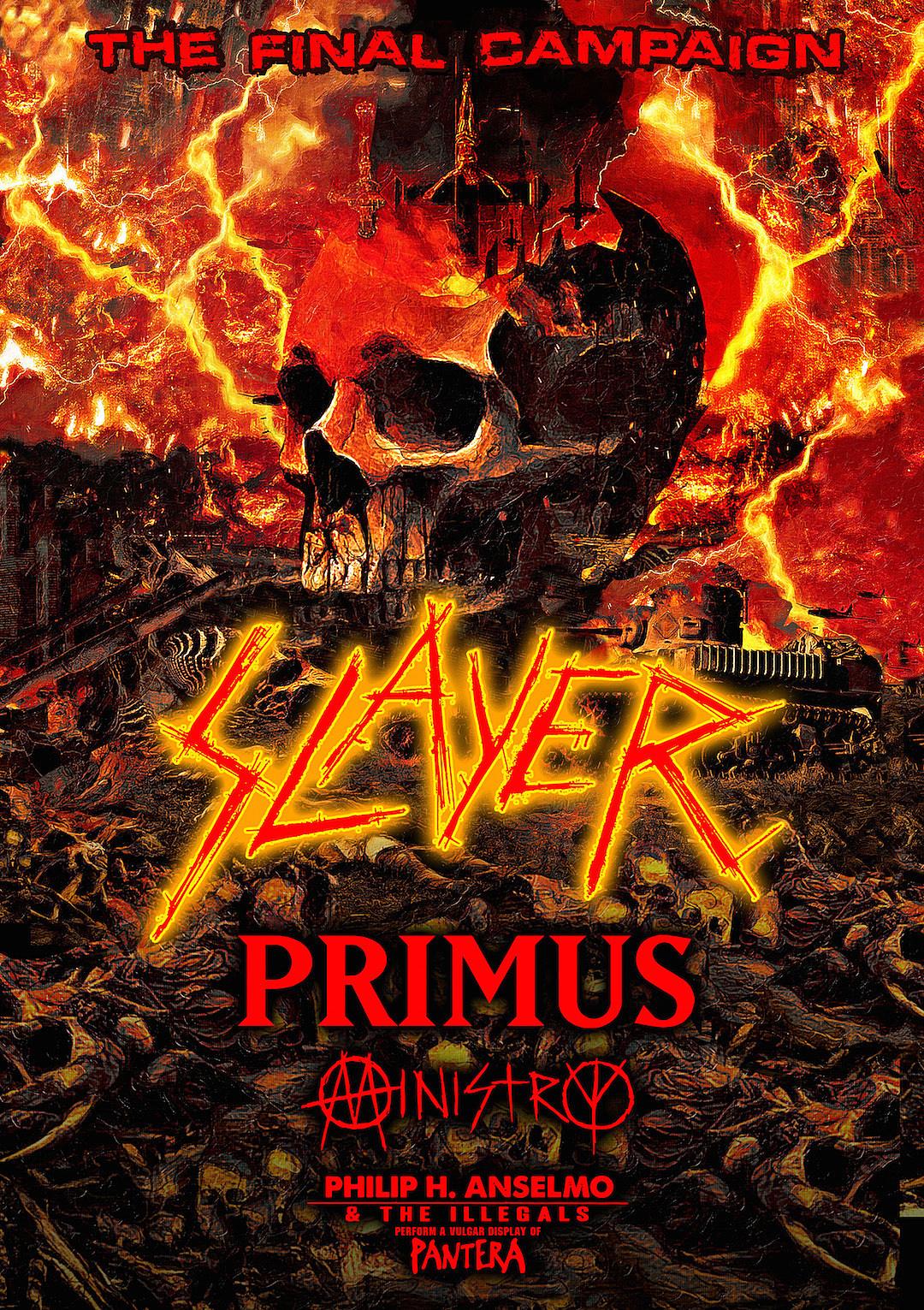 Slayer Announce Last Tour Ever