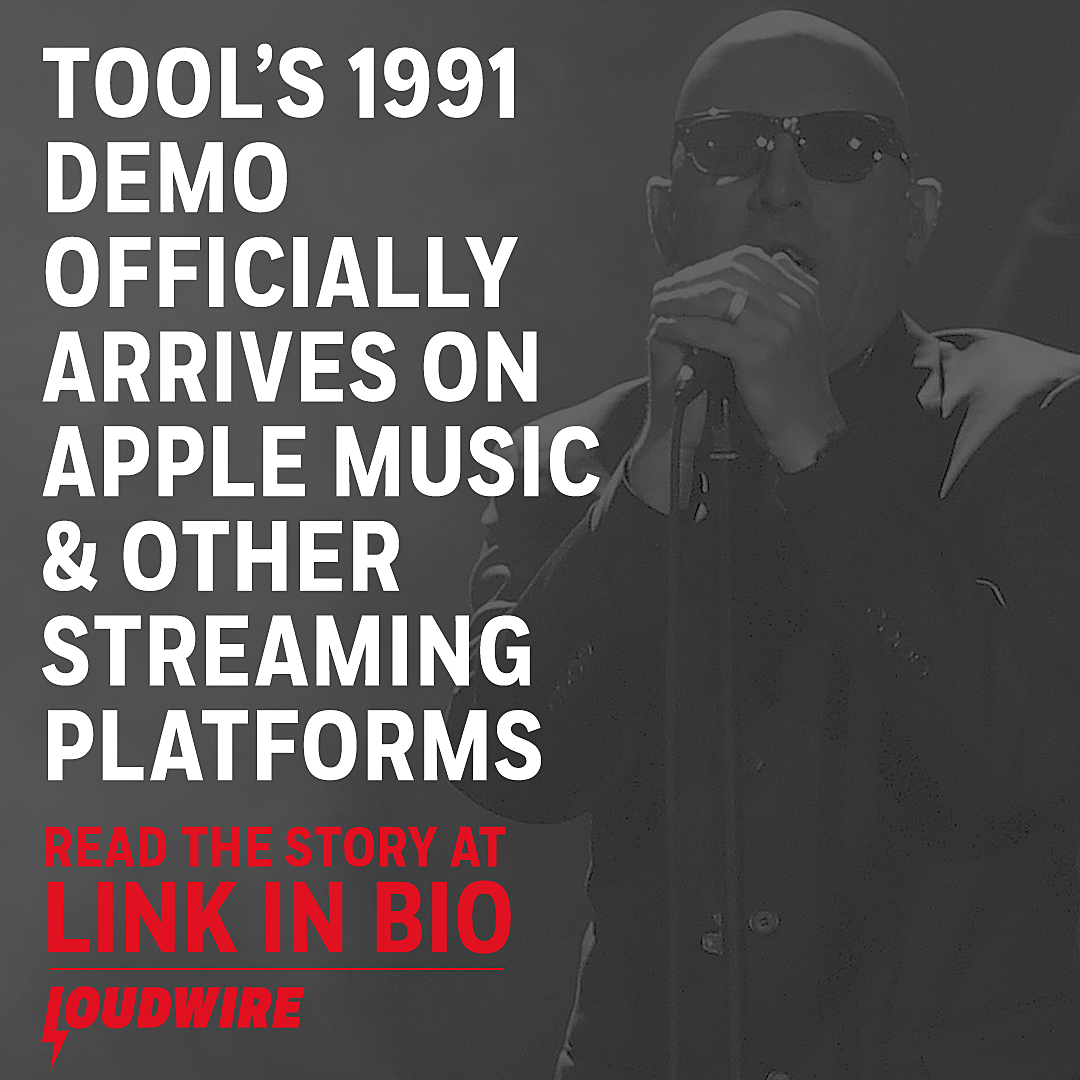 Tool's 1991 Demo Now on Apple Music + Other Streaming Platforms