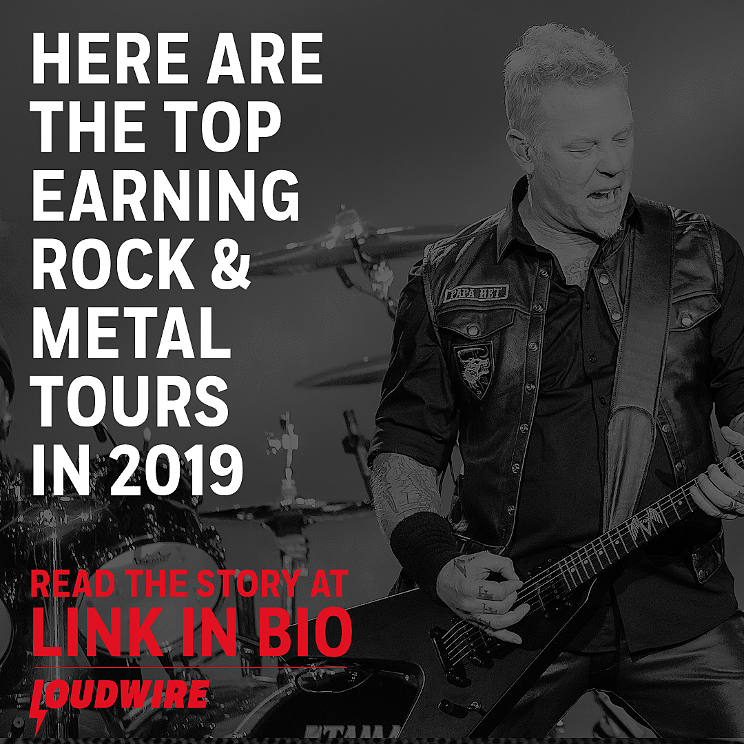Here Are the Top Earning Touring Rock + Metal Bands in 2019