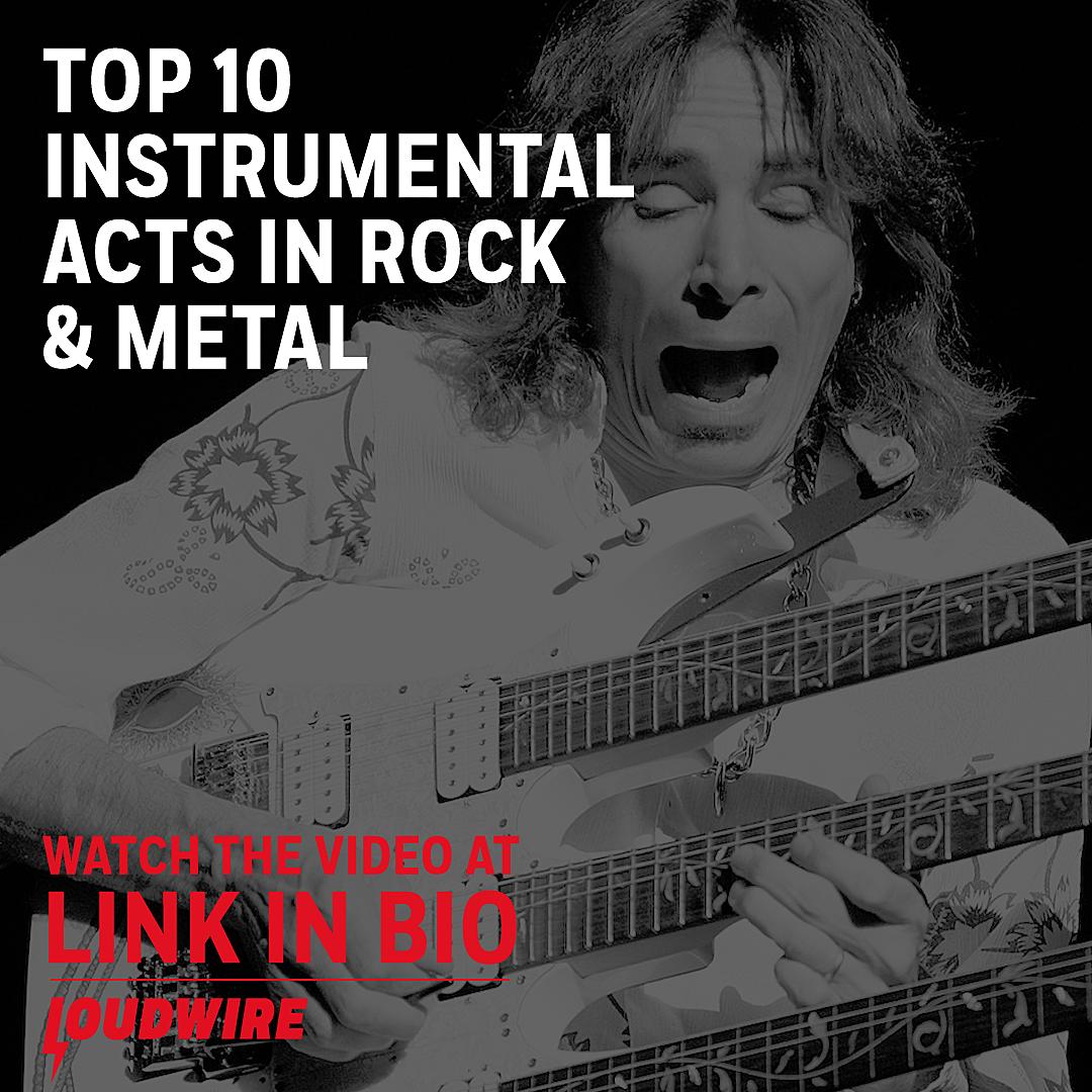 Top 10 Instrumental Acts in Rock + Metal