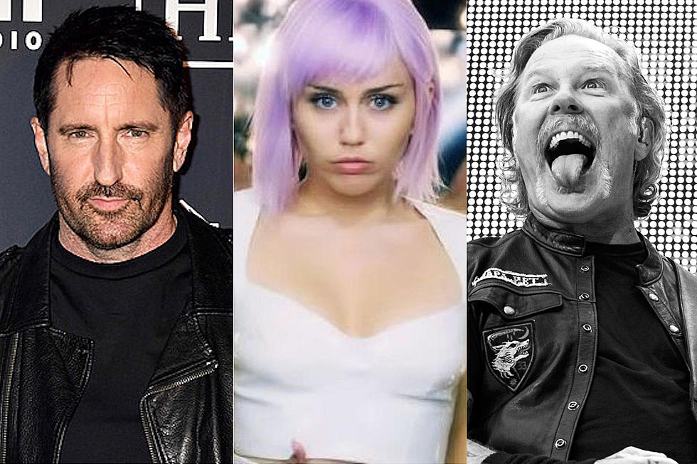 Listen: Miley Cyrus Covers Metallica + Nine Inch Nails Live