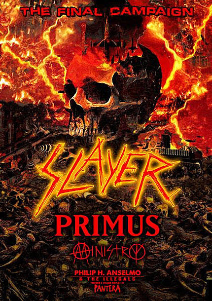 Kerry King Hanneman S Playing Is Not On New Slayer Album