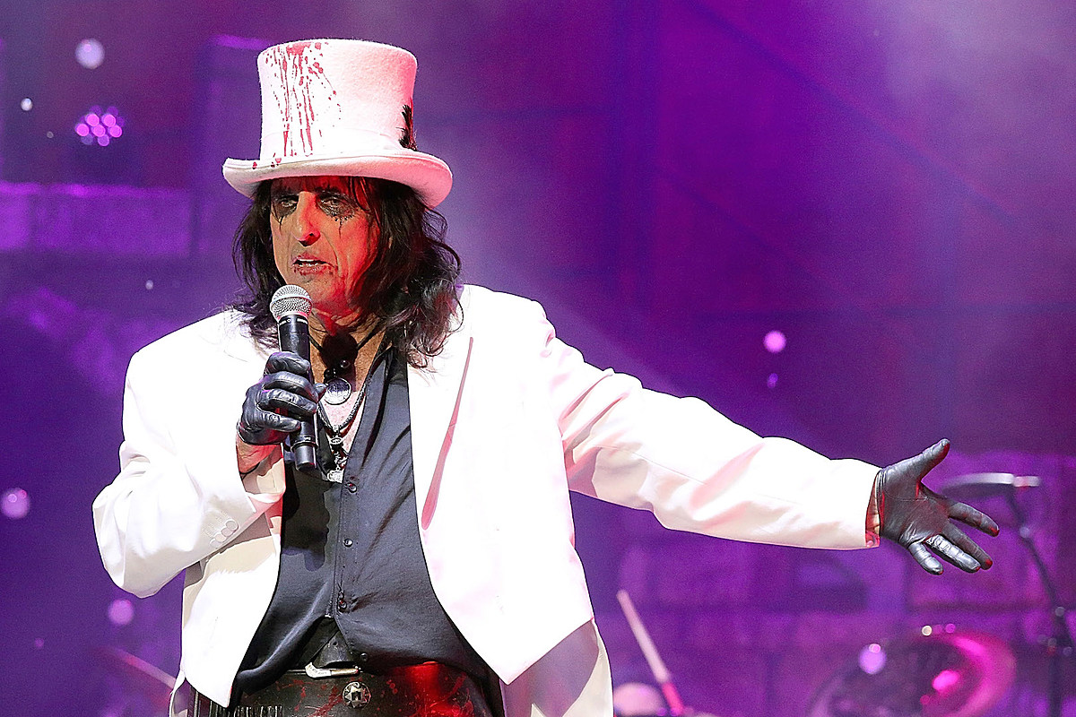 Alice Cooper Books 2020 North American Tour With Lita Ford