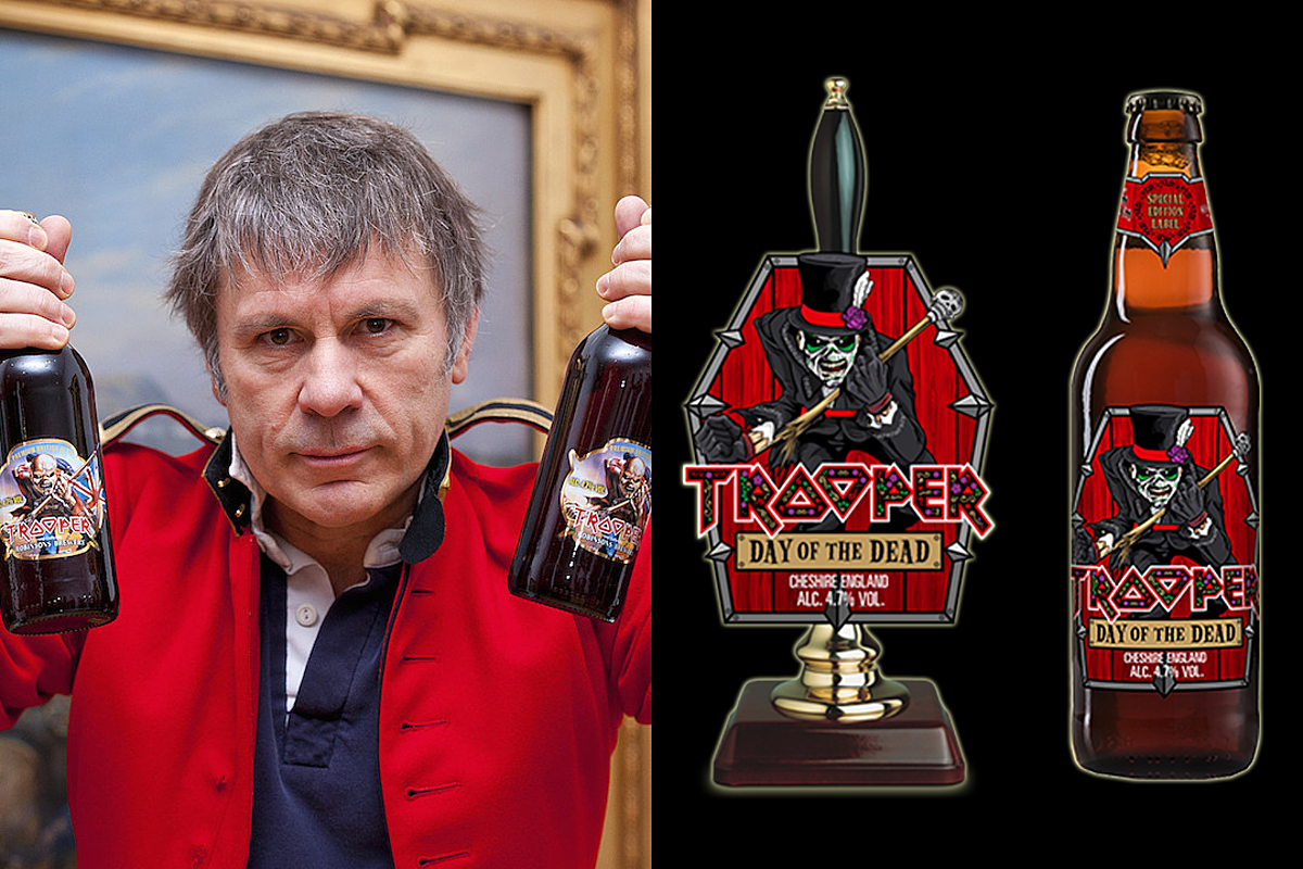 Iron Maiden Reveal Limited Edition 'Day of the Dead' Trooper Beer
