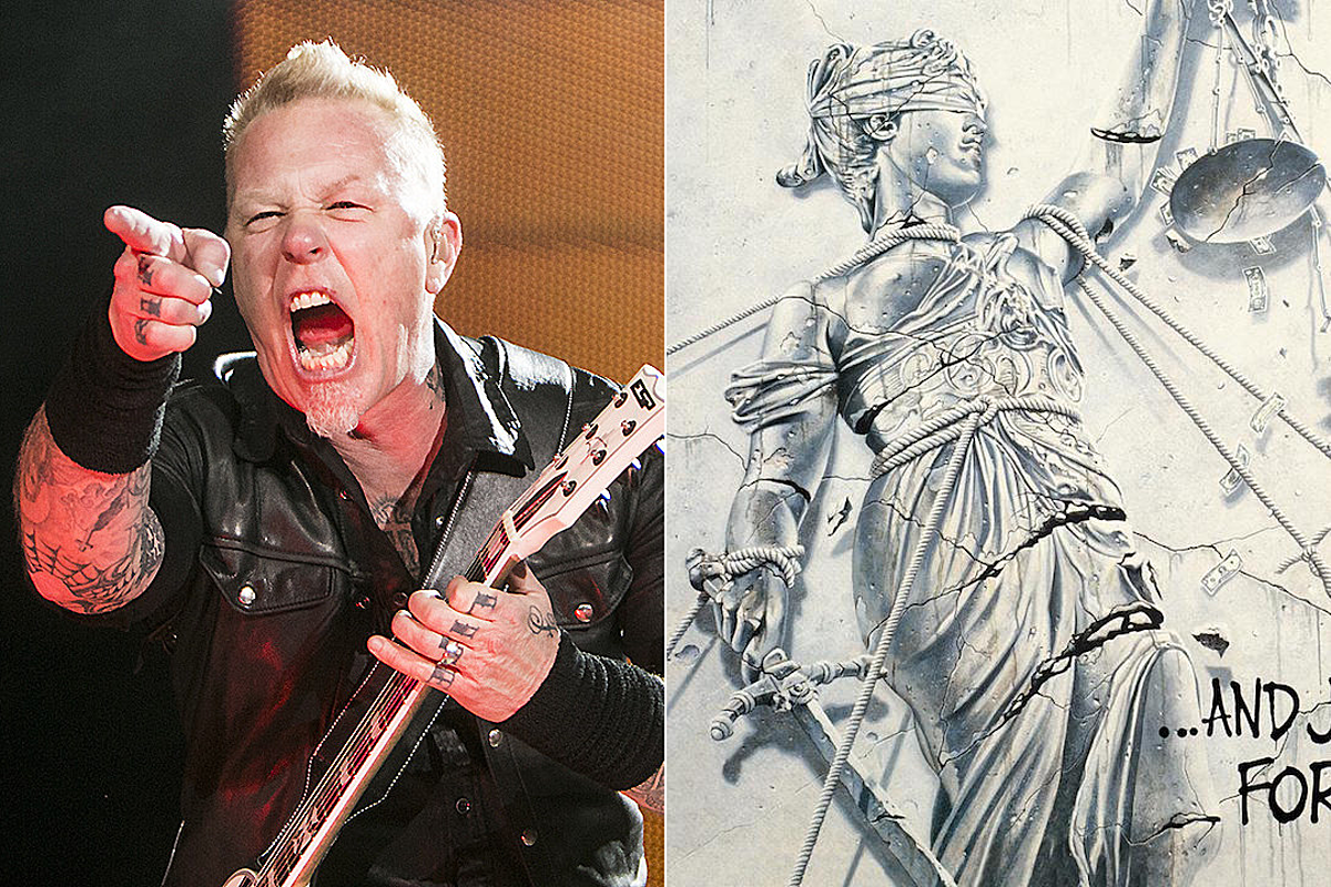 James Hetfield Still Defends Metallica 'And Justice for All' Mix