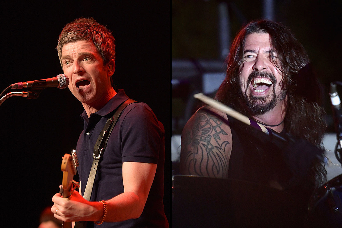 Noel Gallagher Laughingly Wants Petition to Break Up Foo Fighters
