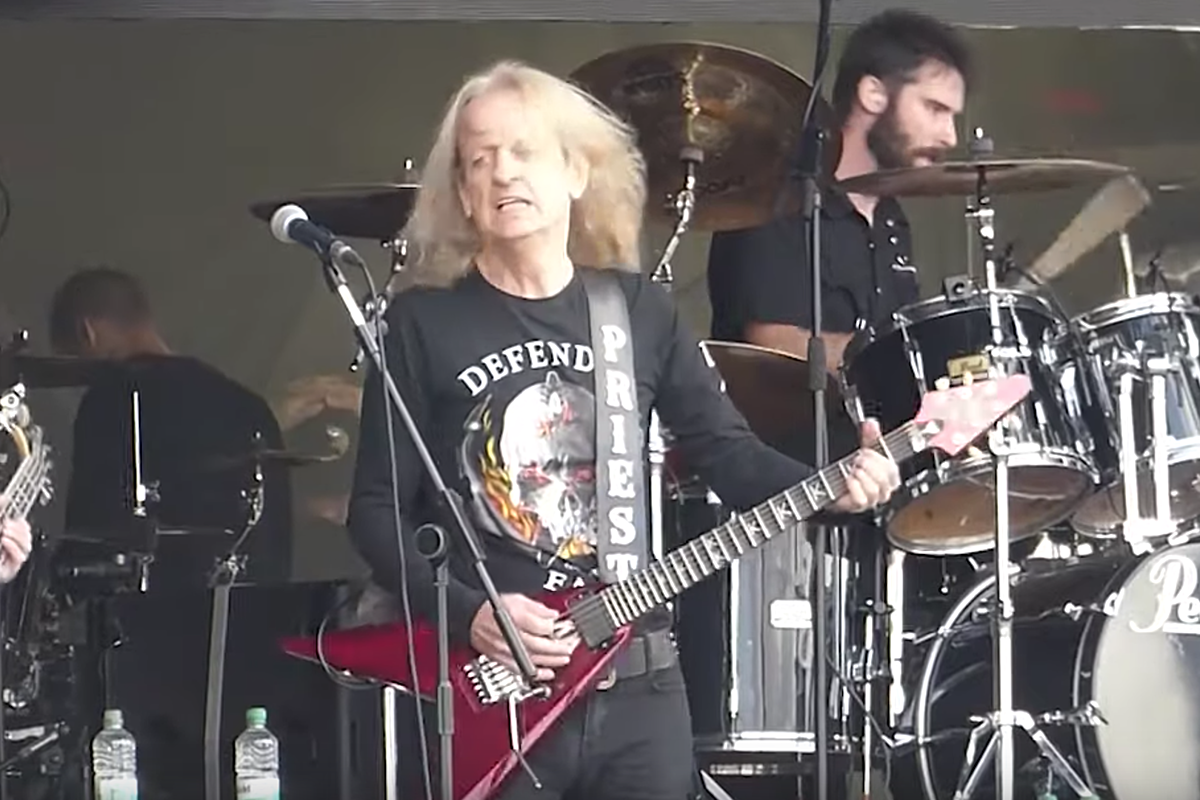 K K  Downing Plays Judas Priest Live for First Time in 10 Years