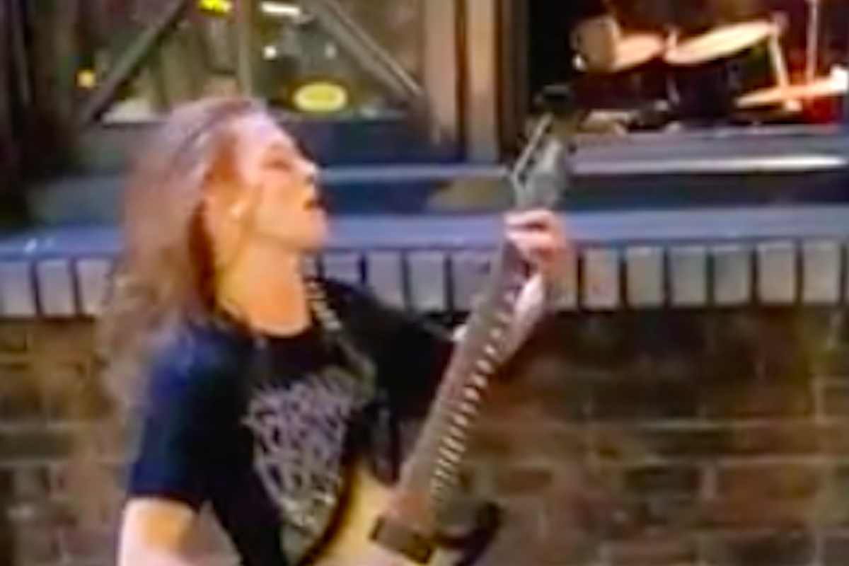 Guitarist Too Young to Play in Venue, Shreds on Street Corner