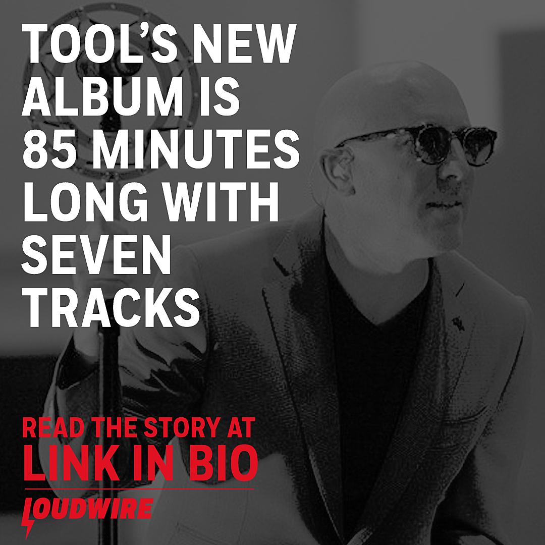 Adam Jones: New Tool Album Is 85 Minutes Long With Seven Tracks