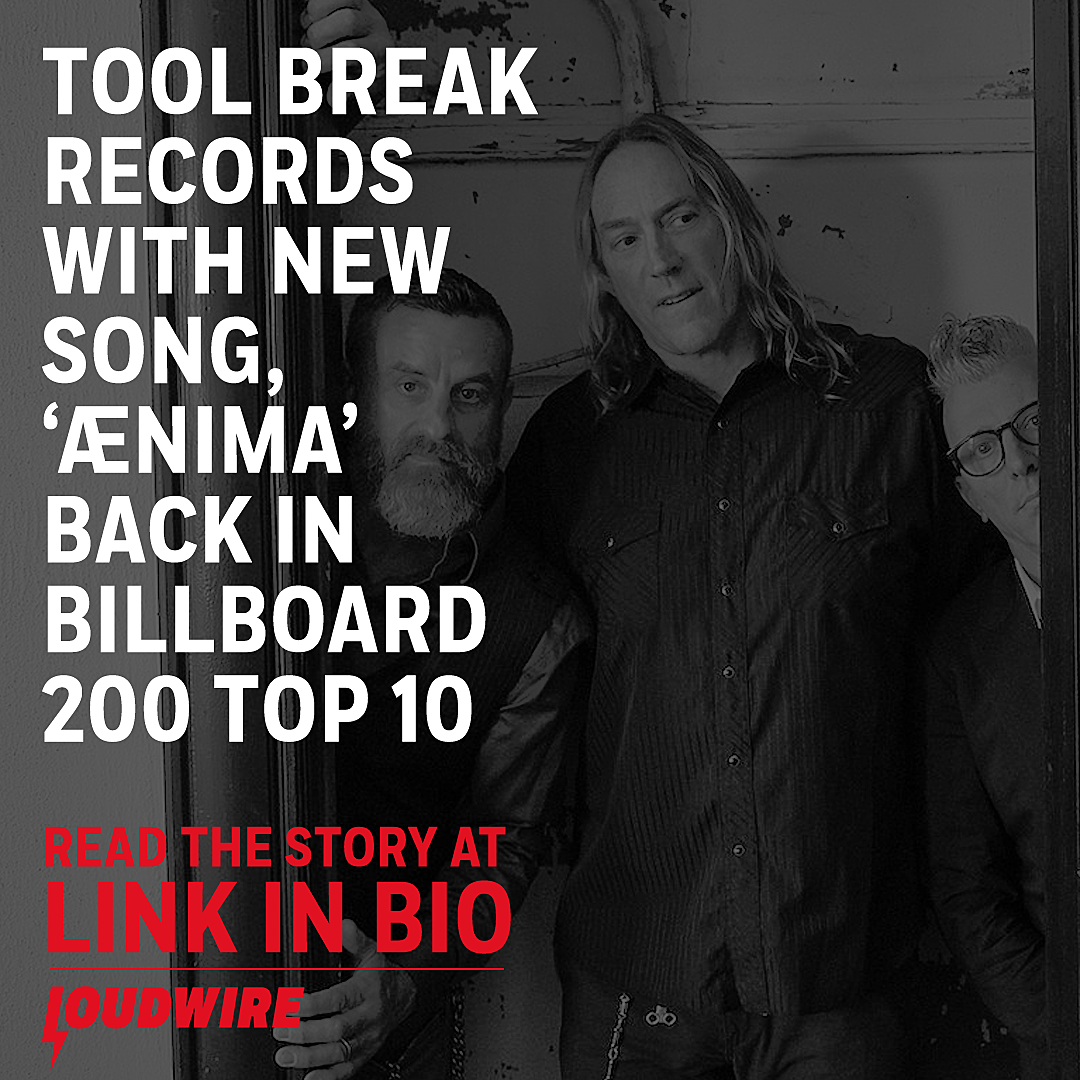 Tool Break Records With New Single, 'Aenima' Re-Enters Top 10