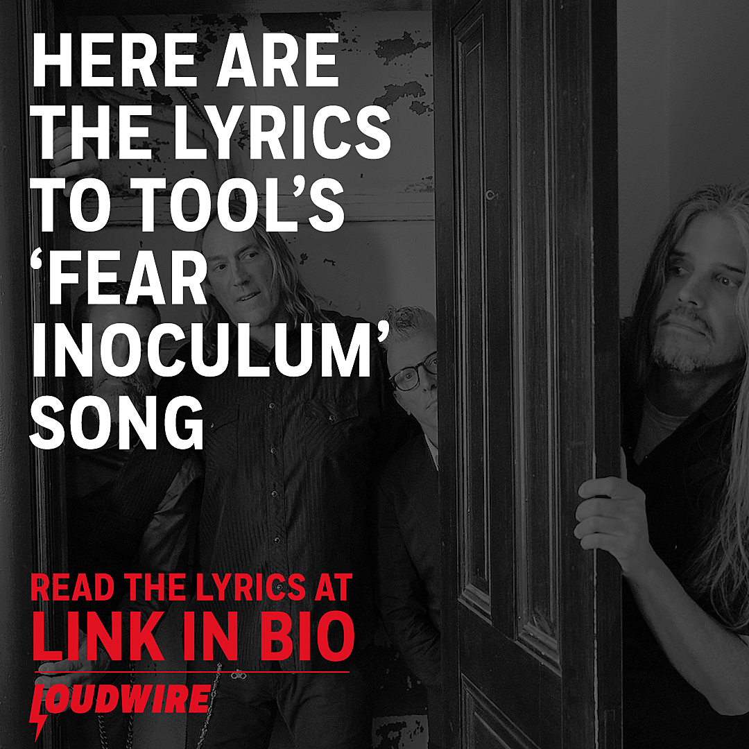Here Are the Lyrics To Tool's 'Fear Inoculum' Song