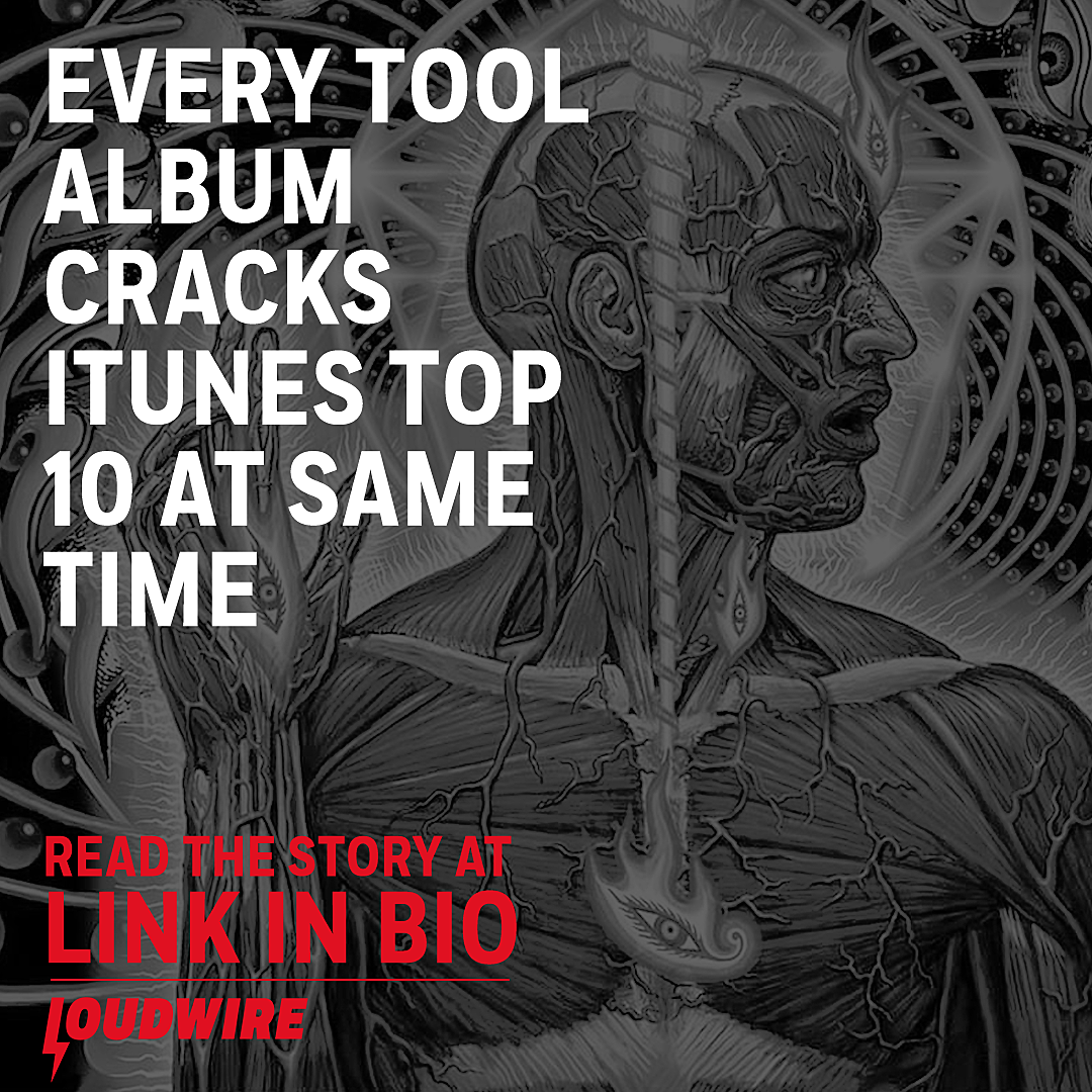 Every Tool Album Simultaneously Cracks iTunes Top 10