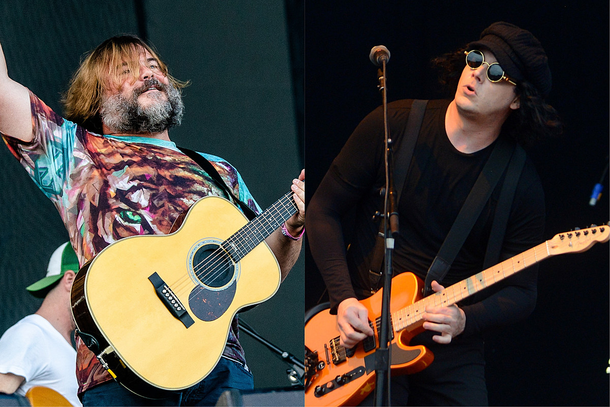 A Jack Black + Jack White Music Collab Is Actually Happening