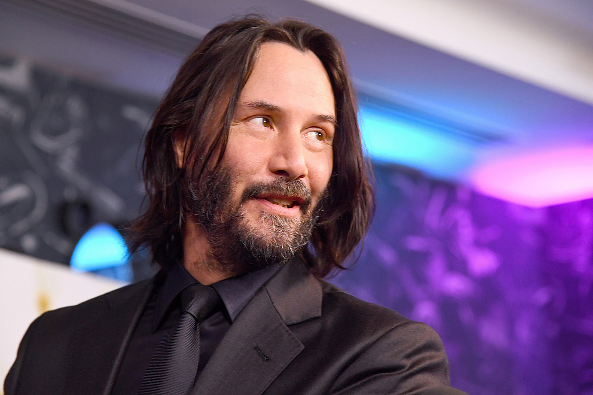 Is This Keanu Reeves' New Guitar in Upcoming 'Bill & Ted' Movie?
