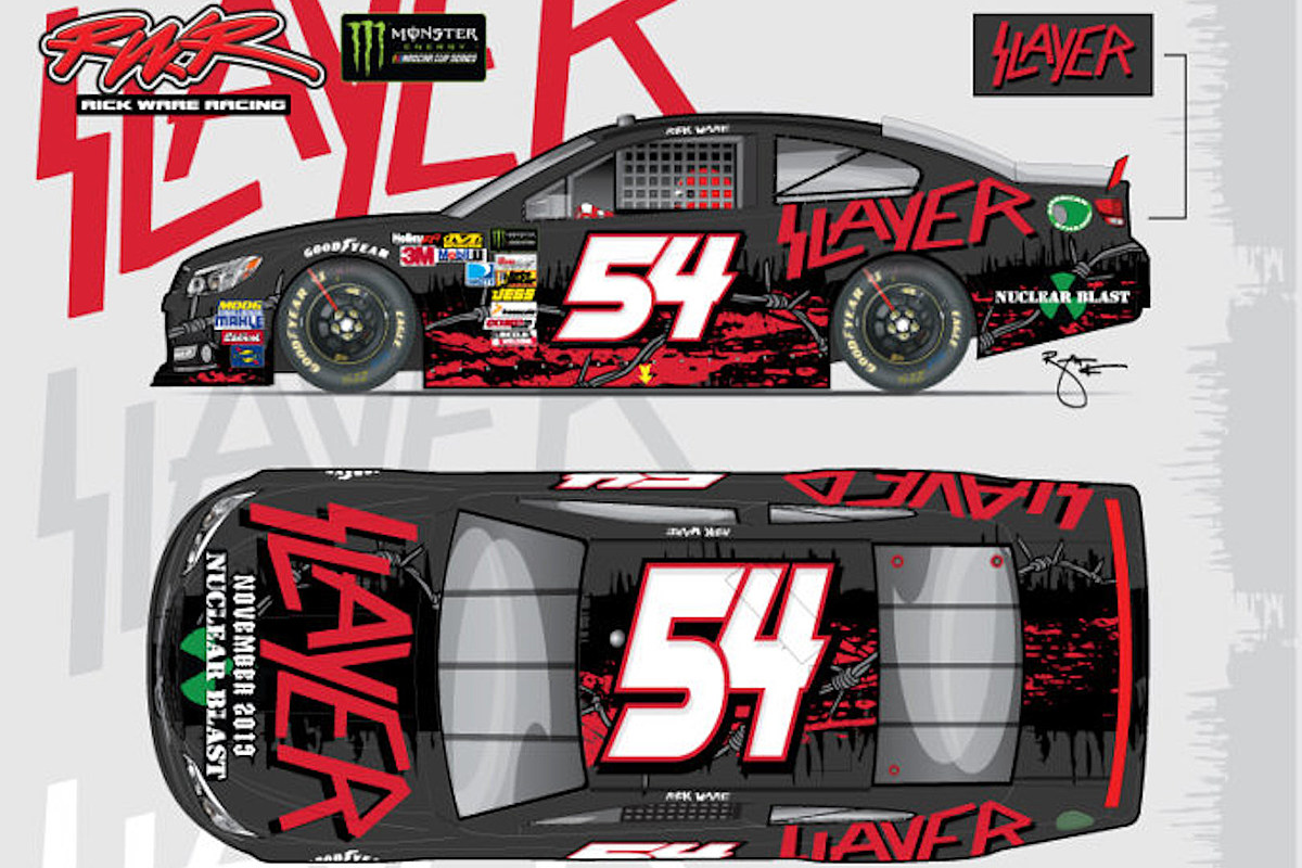 Slayer Too Scary for NASCAR, Pulled From Car Sponsorship