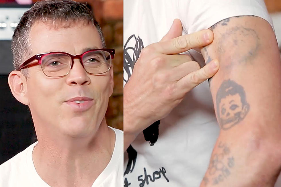 Steve-O on His Henry Rollins Tattoo + Becoming a Metalhead
