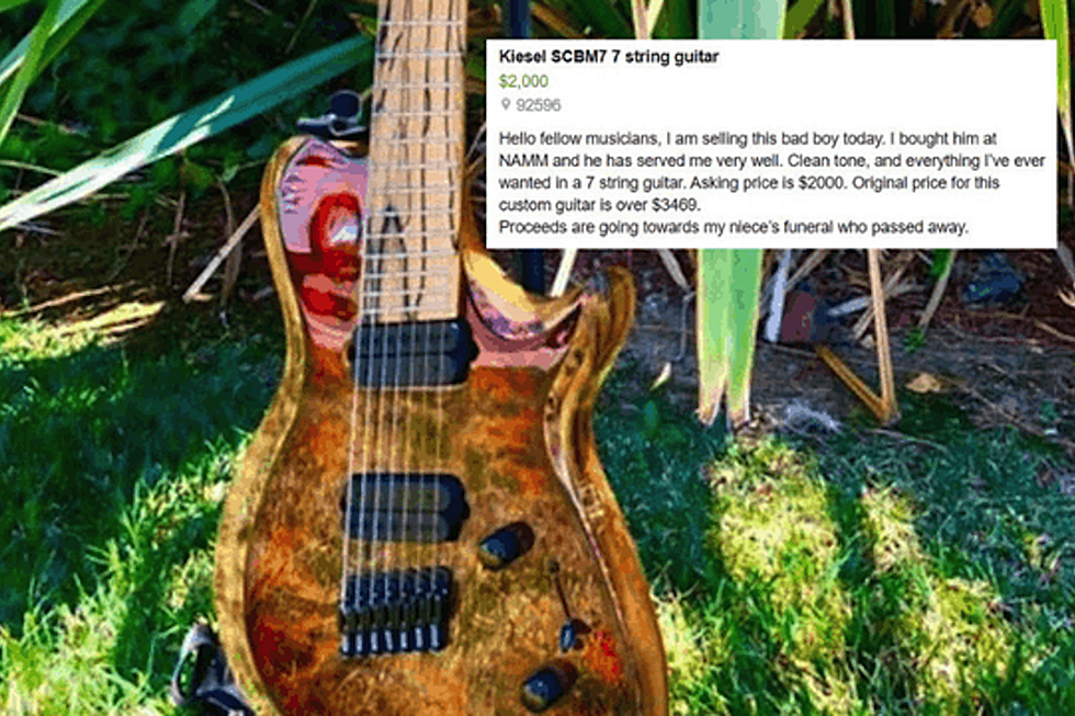 Man Sells Guitar to Pay for Niece's Funeral, Musicians Offer