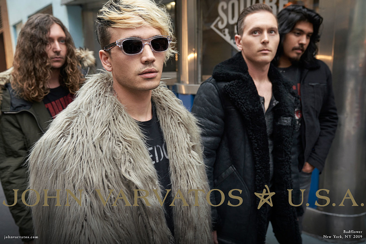 Badflower Tapped to Front John Varvatos Fall/Winter Campaign