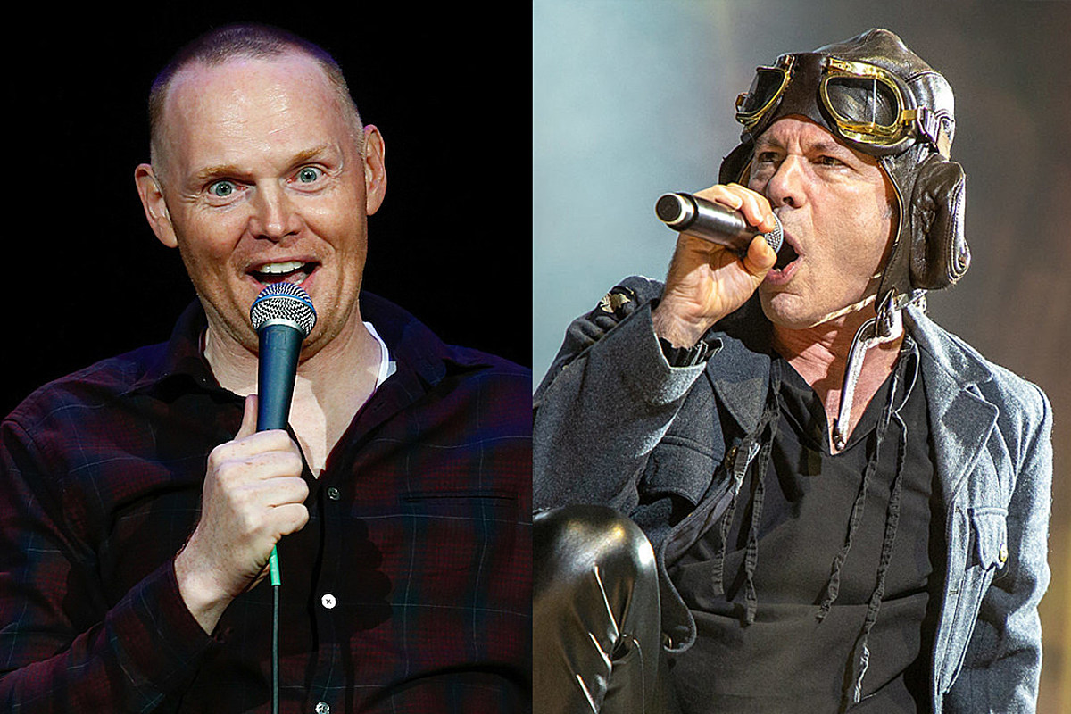 Bill Burr Freaks Out After Seeing Iron Maiden Live