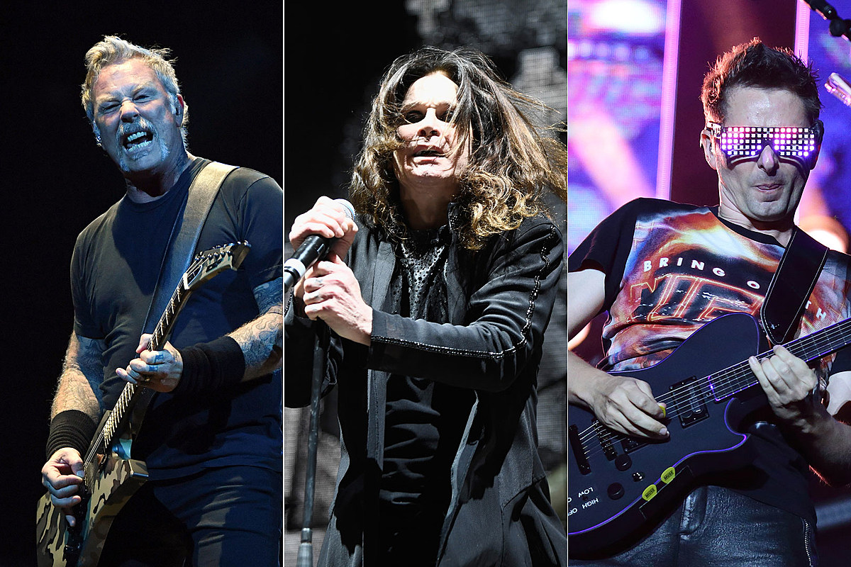 Metallica, Ozzy Osbourne, Muse to Rock 2020 Global Citizen Event