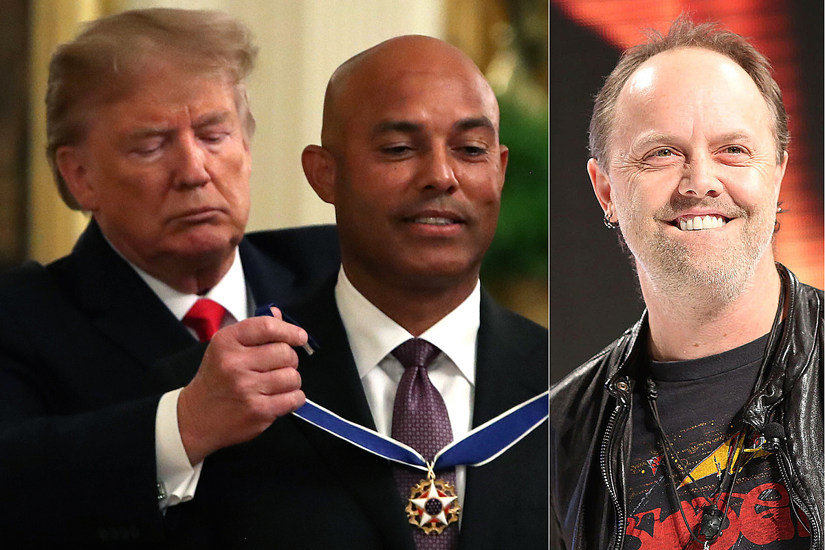 Trump Walks Out to Metallica 'Enter Sandman' at White House Event